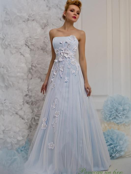Свадебное платье: Рапсоди блю - купить | В белом - свадебный салон