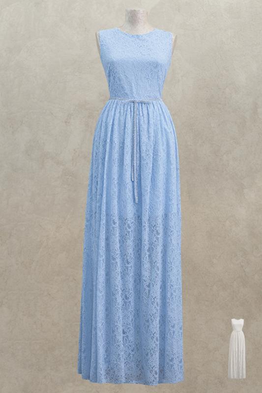 Замечательное длинное вечернее платье.