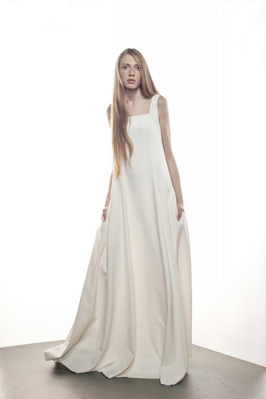 Ультрамодноесвадебное платье А линия.