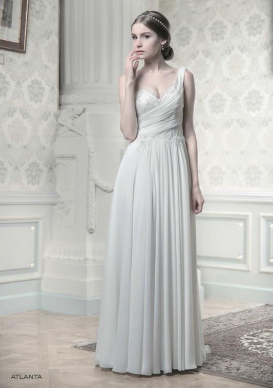 Классическое греческое свадебное платье.