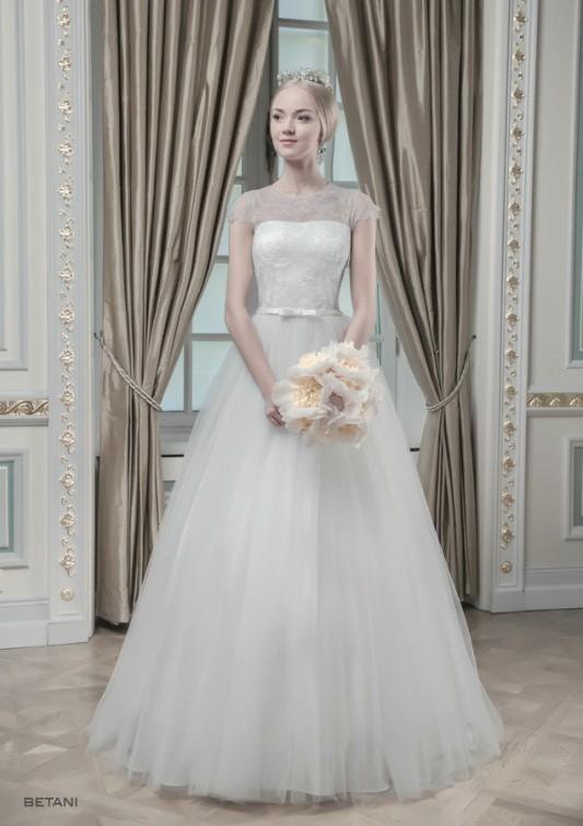 Шикарное пышное свадебное платье.