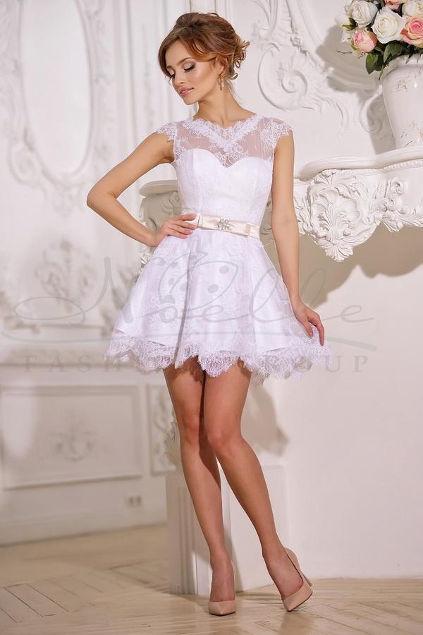 Свадебное платье: Эдельвейс-трансформер - купить | В белом