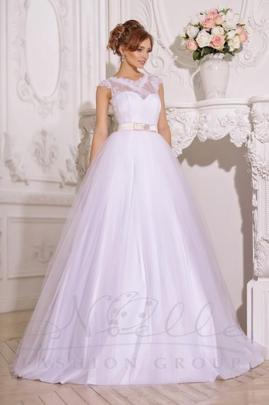 Великолепное свадебное платье трансформер.
