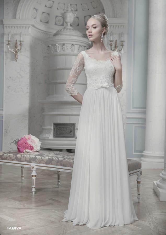Свадебное платье: FABIYA - купить | В белом - свадебный салон
