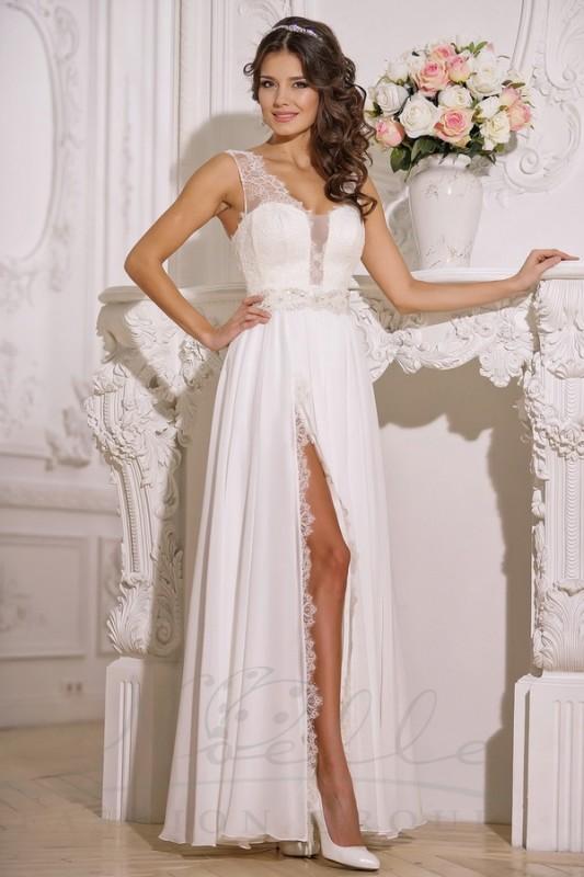 Изумительное свадебное платье в греческом стиле.