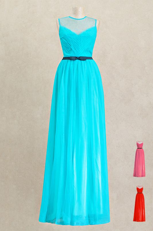 Классическоедлинное вечернее платье.