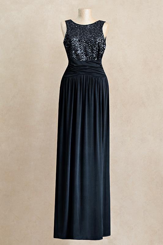 Прекрасноедлинное вечернее платье.