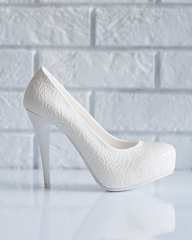 Белые туфли на свадьбу купить в Санкт- Петербурге - салон В белом