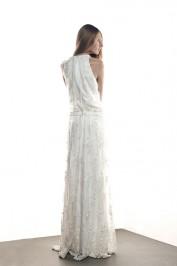 Свадебное платье с прямым силуэтом