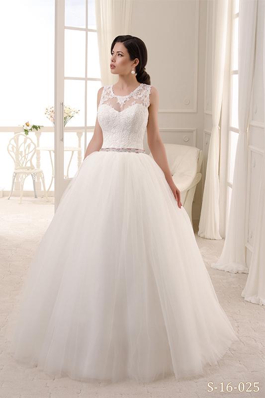Оригинальное пышное свадебное платье S-16-025_1