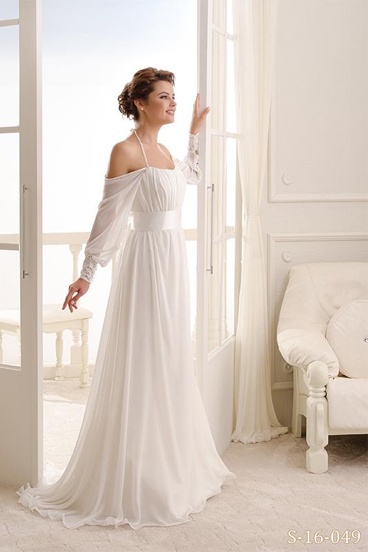 Легкоесвадебное платье в греческом стиле.