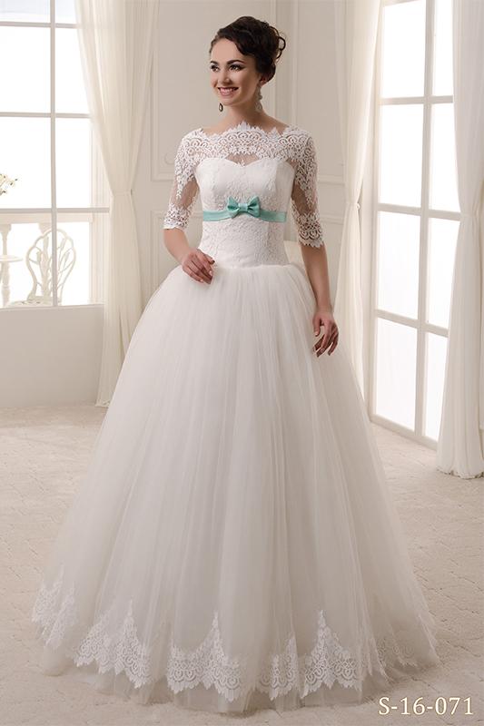 Изумительноепышноесвадебное платье.