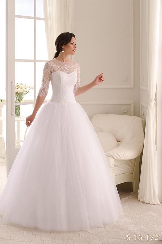Классическое пышное свадебное платье S-16-172_1