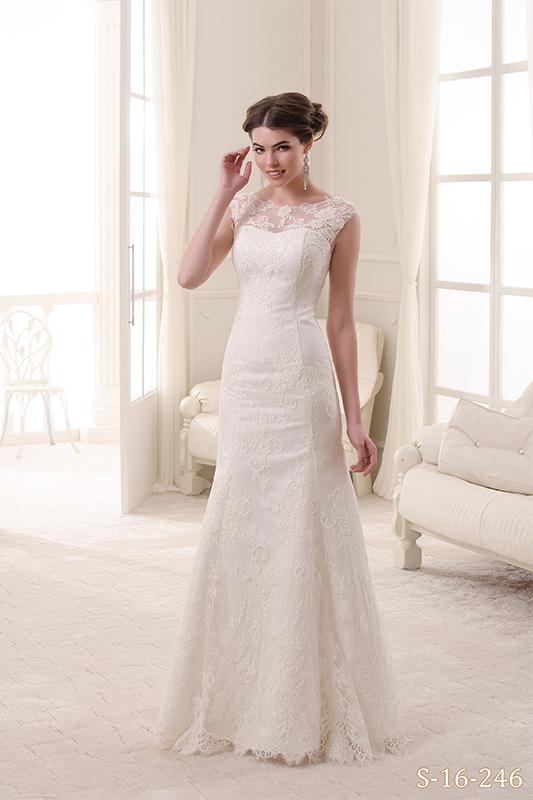 Кружевное свадебное платье купить в Санкт-Петербурге - салон В белом