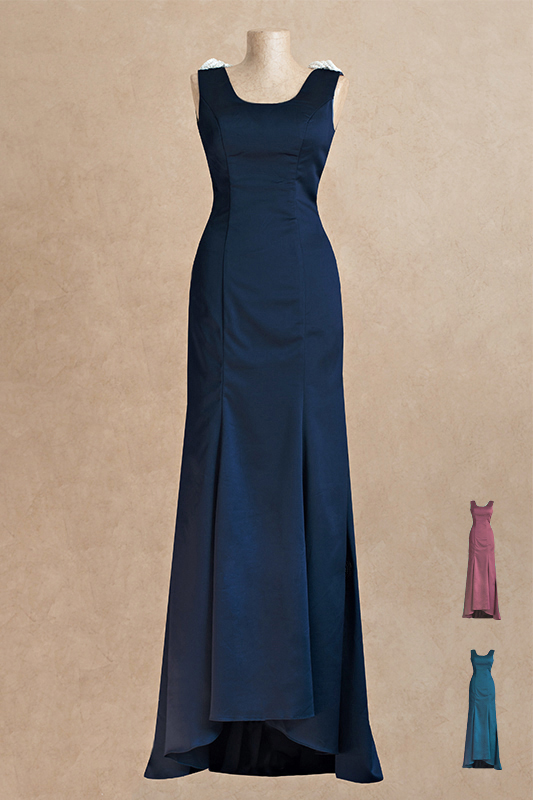 Роскошноедлинное вечернее платье.