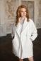 Элегантное свадебное пальто с длинным рукавом 3