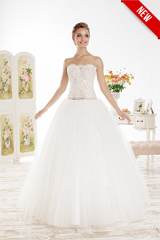 Пышное платье с корсетом Lushiya