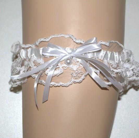 Кружевная подвязка