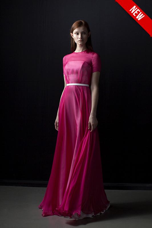 Модное нетрадиционное платье.
