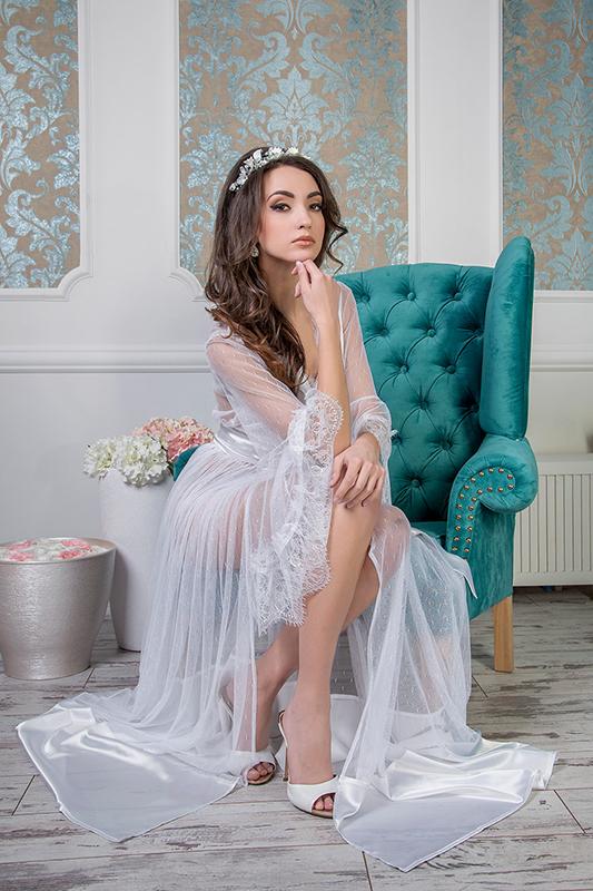a14dc2b6cc2 Будуарное платье  1615R - купить в свадебном салоне -