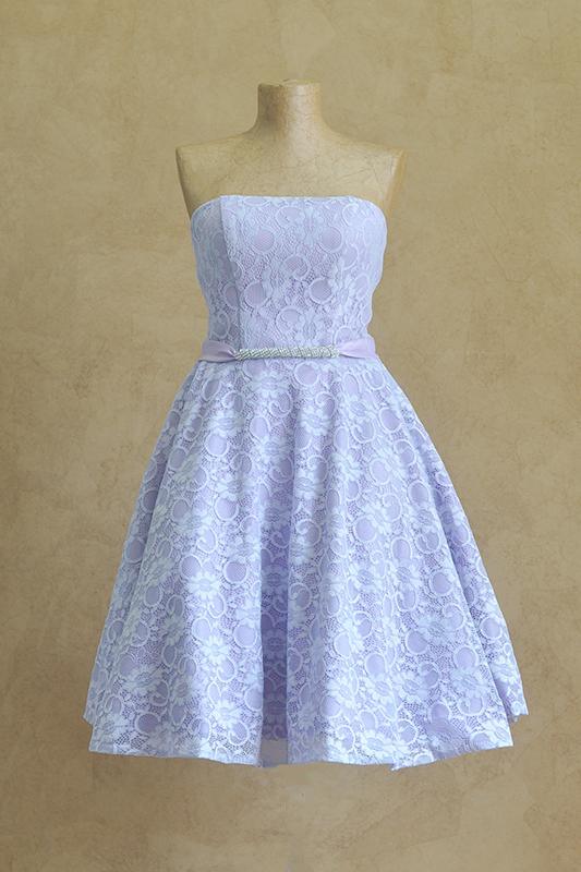 Цветочное голубое платье.