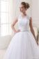 Пышное свадебное платье: S16-2-320 - фото 2