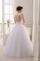 Открытое пышное свадебное платье S-16-073 (3)