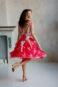 Пышное платье средней длины Y001