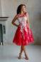 Пышное платье средней длины Y001 - фото 3