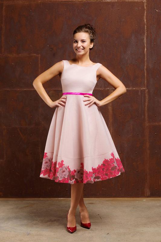 Вечернее платье 09111-16 - фото 4