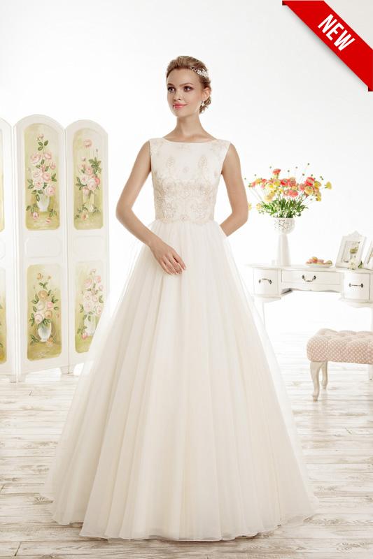 Классическое пышное свадебное платье Lora