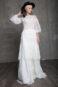 Закрытое винтажное кружевное платье в стиле Бохо.