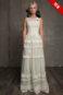 Свадебное платье с винтажным кружевом в стиле Бохо