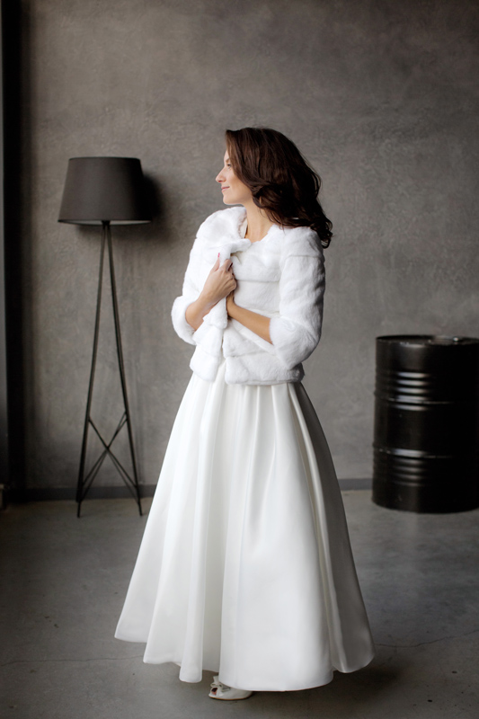 Свадебная накидка: Нутрия - фото 1