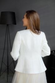 Свадебное пальто: К466 — фото 2