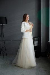 Свадебное пальто: К466 — фото 3
