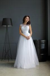 Свадебное платье: Цветок — фото 4