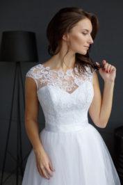 Свадебное платье: Цветок — фото 2