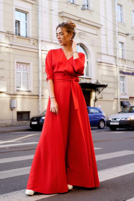 5e5f5af85f8 Купить красное вечернее платье в СПб - салон