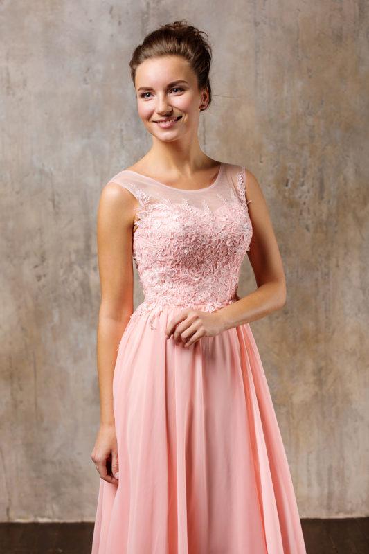 Вечернее платье 2280-5 - фото 11