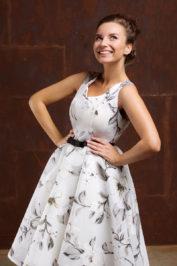Вечернее платье 09011-16 — фото 4