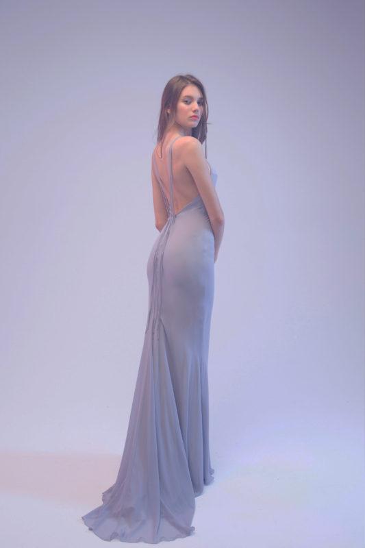 Свадебное платье прямое 4017