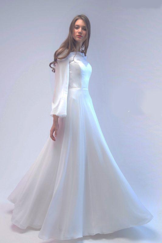 Свадебное платье 6217 - фото 1