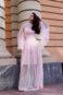 Неординарное свадебное платье Малина