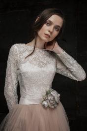 Свадебное платье Шампань — фото 1