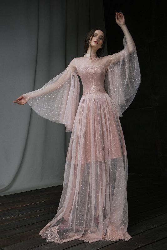 Свадебное платье Малина