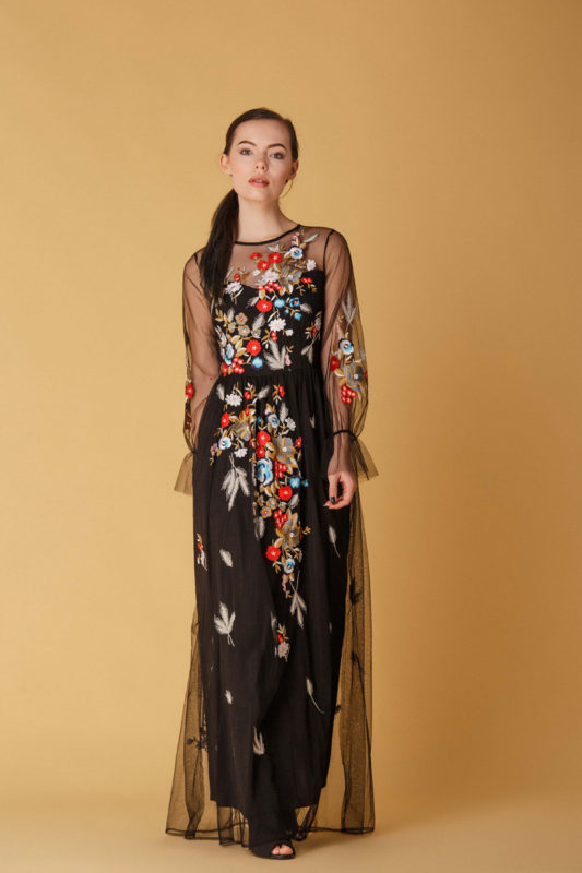 Вечернее платье C1714 - фото 3