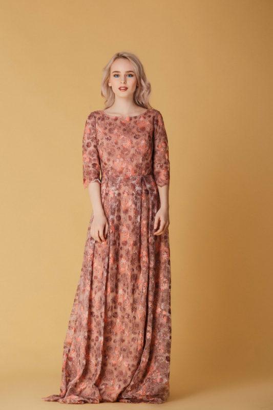 Вечернее платье 1105 - фото 1