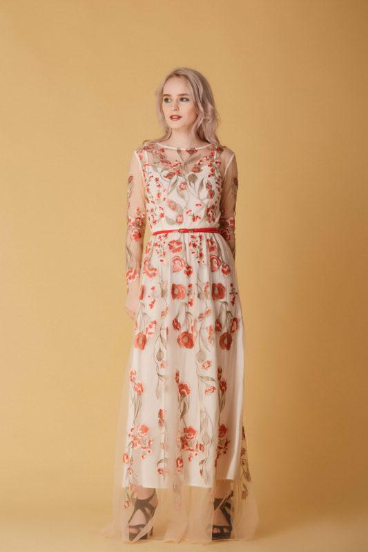 Вечернее платье М04 - фото 1
