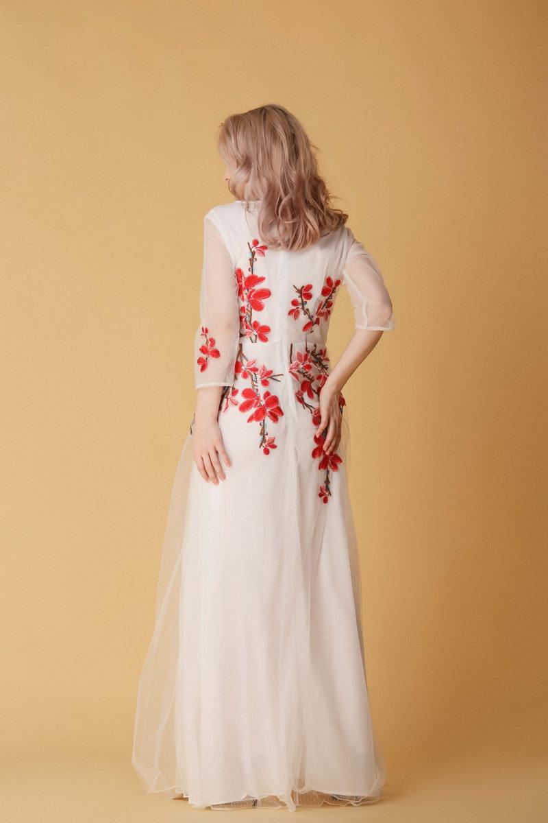 Длинные Платья Купить Белый